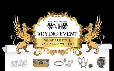 National Rarities Buying Event May 25-27