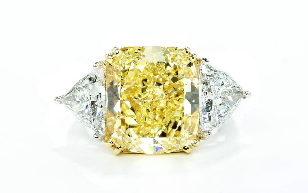 Psychology Behind Fancy Color Engagement Rings