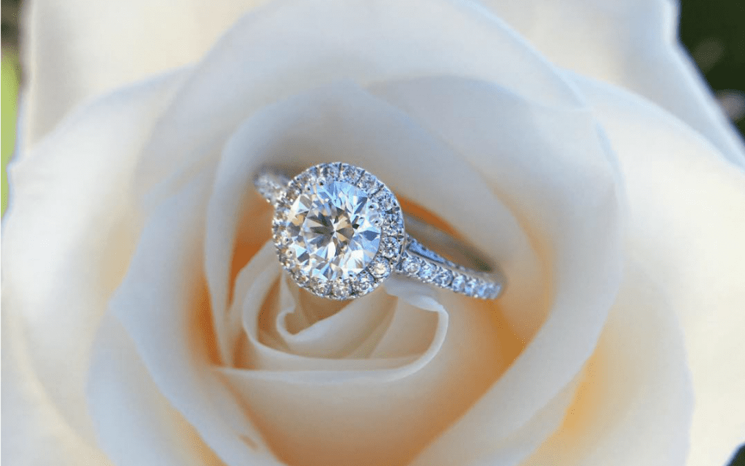 "Say ""I Do"" With a Halo Engagement Ring"