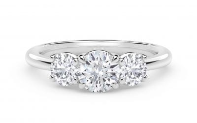 The Highlights: Three-Stone Engagement Rings