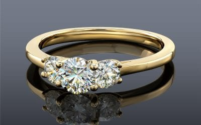 What Color Diamond Looks Best With Yellow Gold?