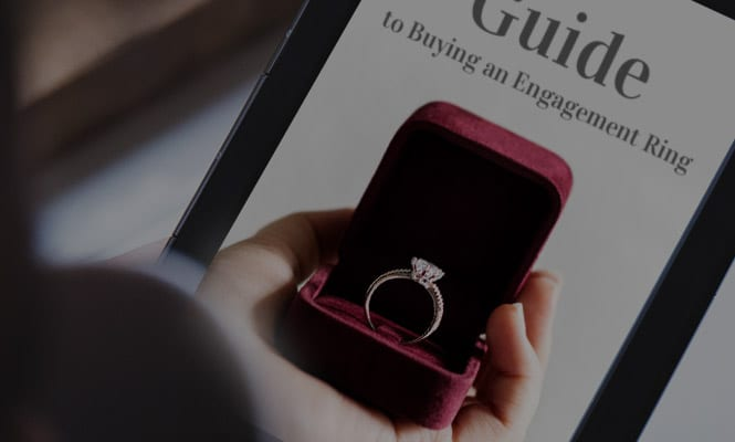 Littleton's Guide to  Buying an Engagement Ring