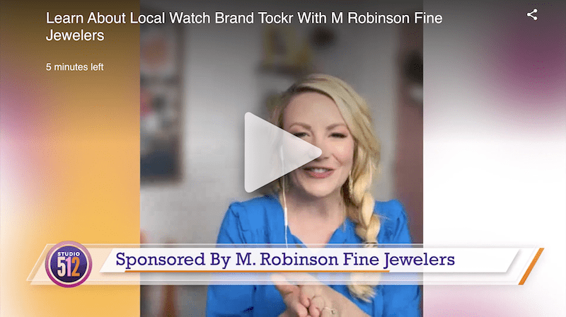Studio 512 – Learn About Local Watch Brand Tockr