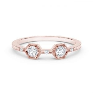 The Forevermark Tribute™ Collection 18K Stackable Ring