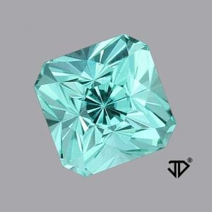 Light Blue Tourmaline Regal Radiant™ Cut