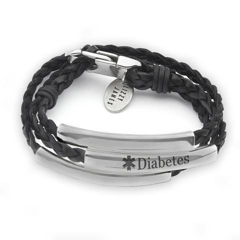 Lizzy James Diabetes Medical ID Bracelet