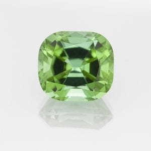 Green Tourmaline Cushion