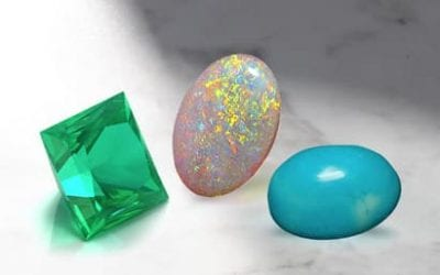 Tip 1:  Opal, Emerald and Turquoise