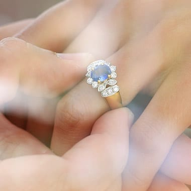 What to know about Colored Diamond engagement rings